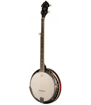Morgan Monroe MB-50 Banjo WITH shoulder bag banjo case