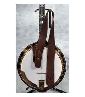 Lakota 2 inch Cradle Mahogany and Rosewood Banjo Strap
