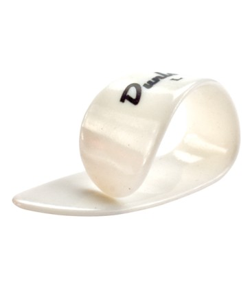 Picks - Dunlop White Plastic Thumbpicks