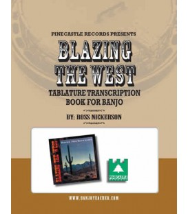 Book - Blazing the West CD and Tablature Book