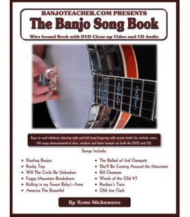 E-Book - Banjo Song E-Book with Recordings to Download
