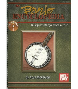 Banjo Encyclopedia Special Edition Wire Bound Book and CD By Ross Nickerson