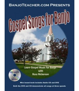 Gospel Songs for Banjo by Ross Nickerson -E-Book