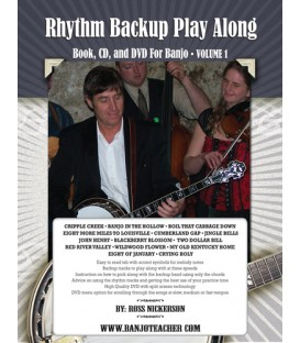 Rhythm Backup Band Play Along Vol 1 - Wire Bound Book/CD/DVD  By Ross Nickerson