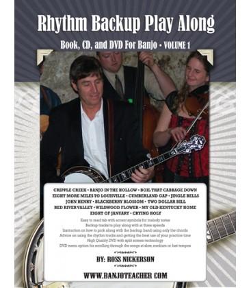 Book - Rhythm Backup Band Play Along Spiral Bound Book, CD and DVD Volume 1