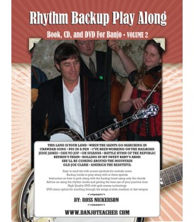 Rhythm Backup Band Play Along Vol 2 - Wire Bound Book/CD/DVD By Ross Nickerson