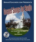 Gospel Music for Banjo - Wire Bound Book/CD/DVD By Ross Nickerson