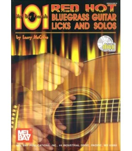 Book - Guitar - 101 Red Hot Bluegrass Guitar Licks and Solos - Book/CD Set