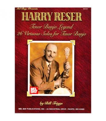 Book - Harry Reser Tenor Banjo Legend 26 Virtuoso Solos for Tenor Banjo