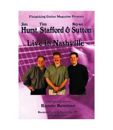 DVD - Live in Nashville (DVD) - Hurst, Stafford  &  Sutton