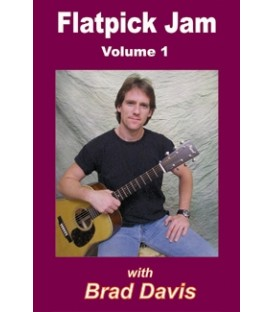 Flatpick Banjo Jam Volume 1  With Brad Davis
