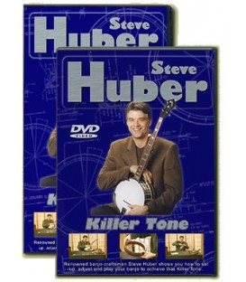 Banjo Setup And Repair Tutorial Video With Steve Huber Banjo luthier