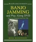 Banjo Jamming and Play Along DVD By Ross Nickerson