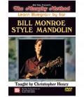 Bill Monroe Style Mandolin - Learn Bluegrass By Ear - DVD