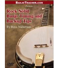 Rock Solid Timing and Back Up Tips Banjo Instruction DVD By Ross Nickerson