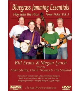 Bluegrass Jamming Essentials - Practice Banjo with a Band
