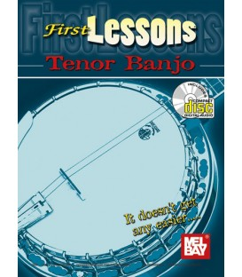First Lesson Tenor Banjo - (Book + Online Audio-Video)