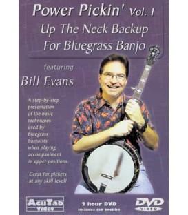 DVD - Vol1 - Back up Banjo-Up the Neck with Bill Evans