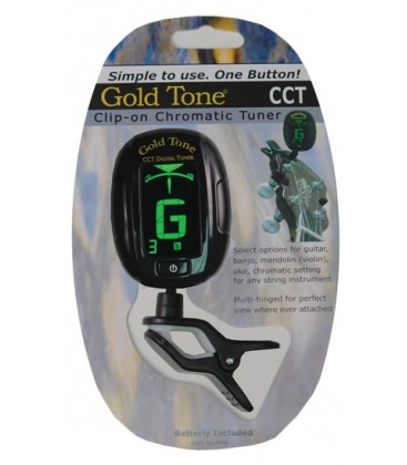 Tuner - CCT Clip-on tuner from Goldtone