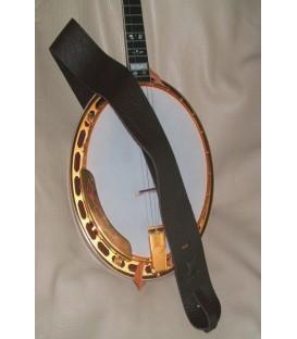 Lakota 3 inch Cradle Mahogany or Rosewood Banjo Strap
