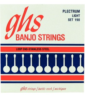 Plectrum (Loop End) Stainless Steel GHS Strings