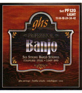6 string banjo strings Loop End -PF120