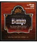 6 string banjo strings Loop End -PF120