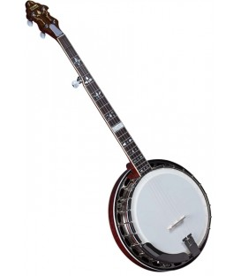 Flinthill FHB-300A Maple Resonator Banjo with hardshell case - Raised Head