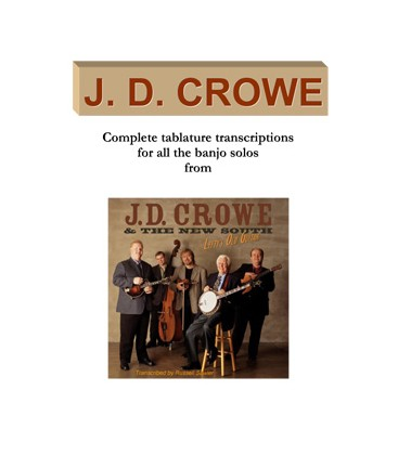 J.D. Crowe Tab Books - Discount Combination with Free US Shipping