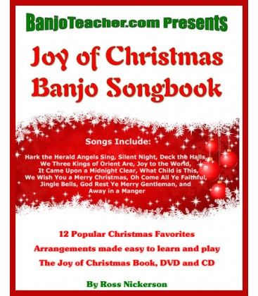 Joy of Christmas Book/CD/DVD by Ross Nickerson