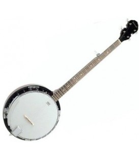 Savannah SB-100 Beginner Banjo - 5-String Bluegrass Beginners Kit