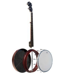 Morgan Monroe Rocky Top - Lowest Price  Beginner Bluegrass Banjo with Resonator - RT-BO1