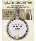 Let's Kick It CD - Banjo Solos Tab Transcriptions - Ross Nickerson