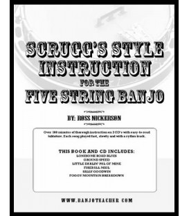 Scruggs Style Instruction for Five-String Banjo
