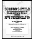 Scruggs Style Instruction for Five-String Banjo - Wirebound Book/CDs By Ross Nickerson