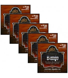 Discounts on Banjo Strings -  (5 Sets) GHS 140 Light Gauge Banjo Strings