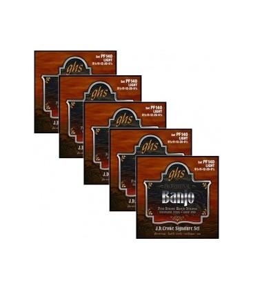 Discounts on Banjo Strings -  (5 Sets) GHS 140 Light Gauge Banjo Strings