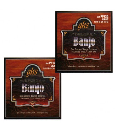 Banjo String Discounts - (2 sets) GHS 175 Banjo Strings