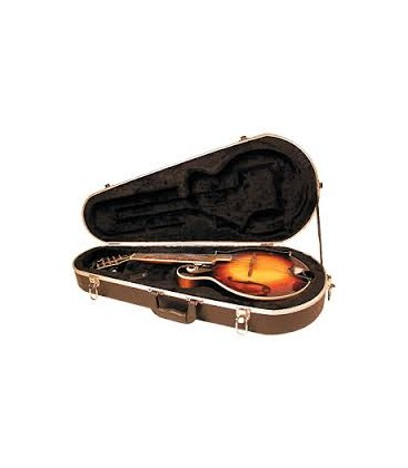 Mandolin Case - Deluxe Mandolin ABS Hardshell Case - F Model CP-1520 (with purchase of mandolin)