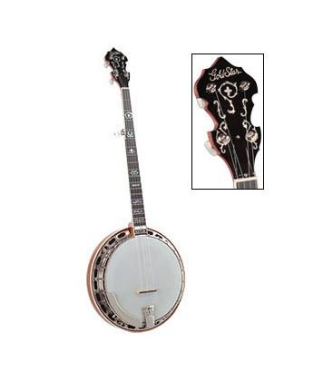 GoldStar Mahogany Wreath Banjo