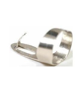 Clawhammer Banjo  Finger Pick - Nickel/Silver