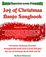 christmas banjo book