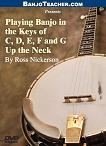 Different keys of banjo