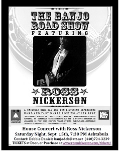 Ross Nickerson House Concert