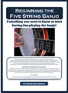 beginning banjo book by Ross Nickerson